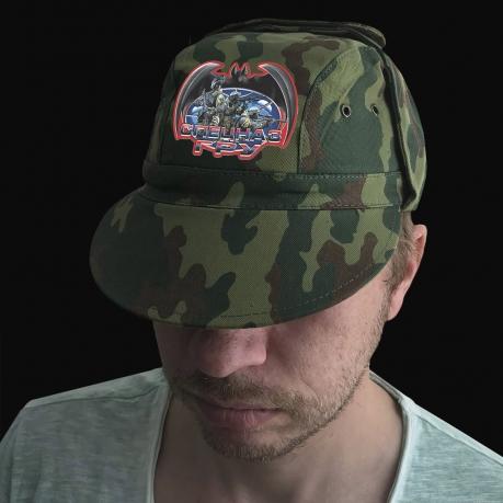 Камуфляжная кепка для спецназовца ГРУ