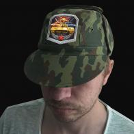 Камуфляжная кепка для танкиста