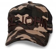 Камуфляжная кепка EL JOHN