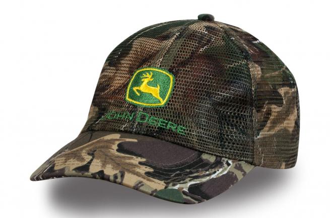 Камуфляжная кепка с сеткой - купить в интернет-магазине с доставкой