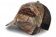 Камуфляжная кепка Realtree с сеткой