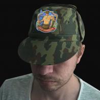 Камуфляжная кепка с шевроном Парти рыбаков России