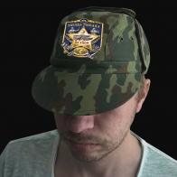 Камуфляжная кепка с шевроном За Улов