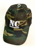 Камуфляжная летняя бейсболка NC с 3-D вышивкой