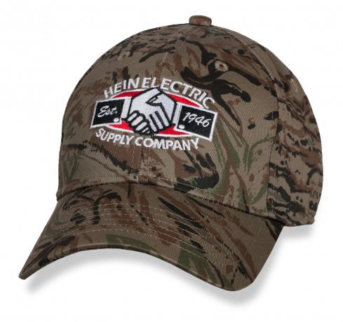 Камуфляжная мужская кепка Hein Electric Supply