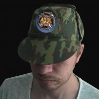"Камуфляжная мужская кепка ""Военная разведка"""