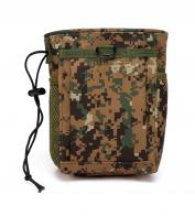 Камуфляжная мужская поясная сумка для фляги