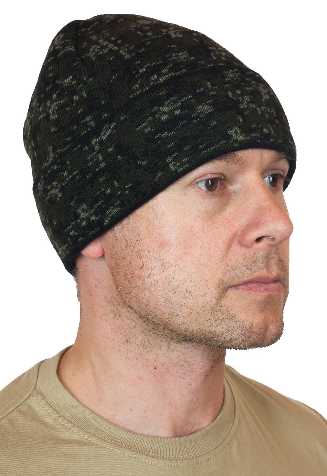 Камуфляжная мужская шапка с доставкой