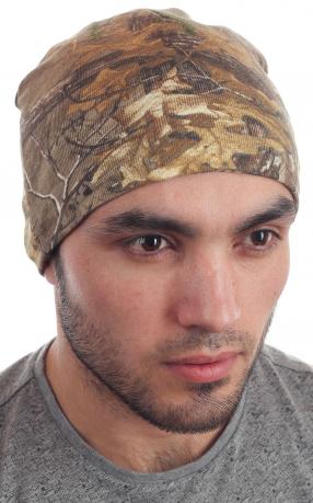 Камуфлированная шапка