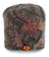 Камуфляжная мужская шапка универсального дизайна. Комфортная модель для холодной погоды