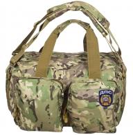 Камуфляжная мужская сумка с нашивкой ДПС