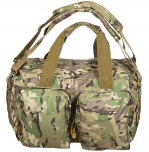 Камуфляжная походная сумка Ни пуха, Ни пера - купить в подарок