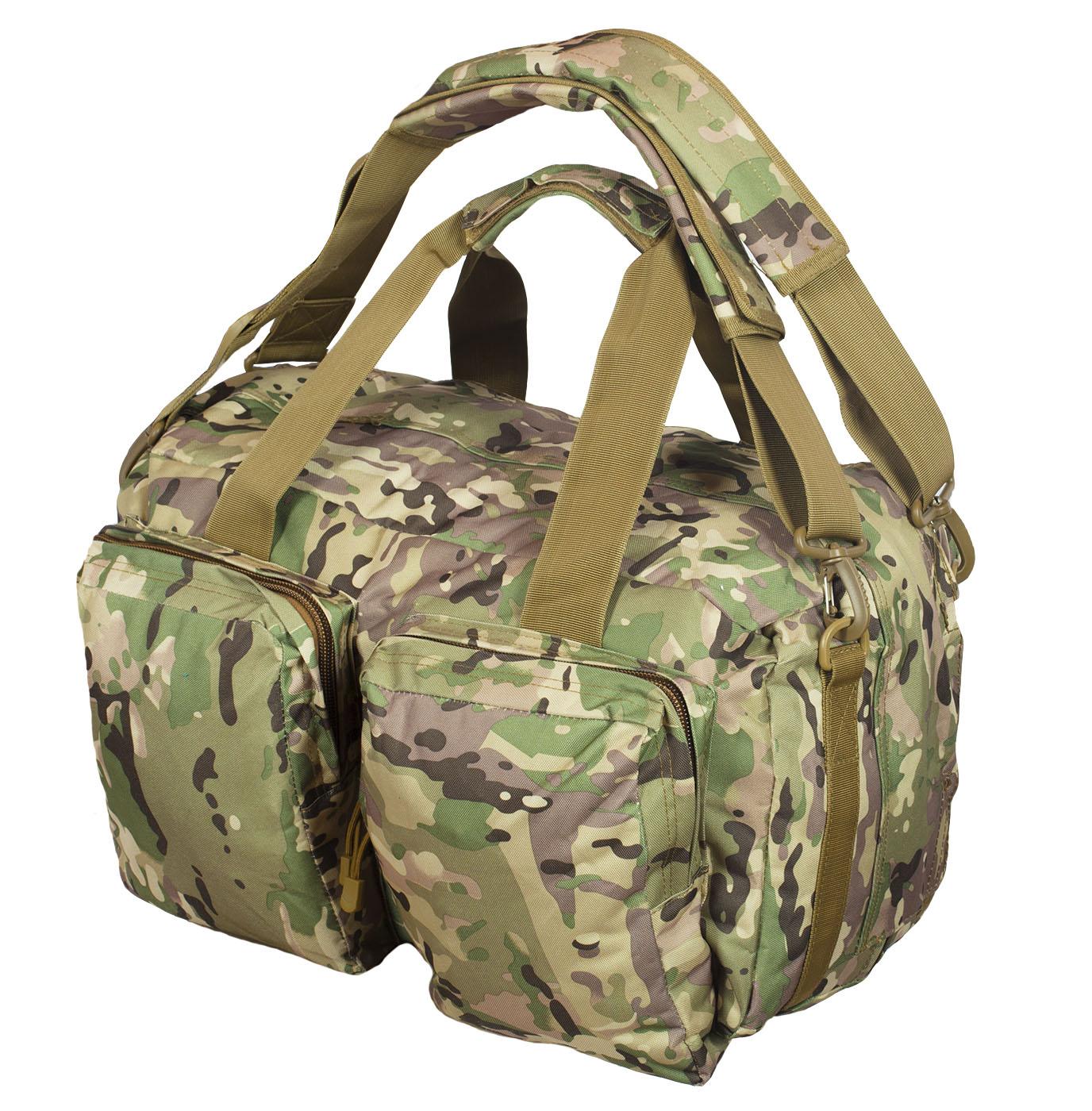 Камуфляжная походная сумка Ни пуха, Ни пера - заказать онлайн