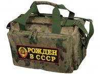 Камуфляжная походная сумка Рожден в СССР - купить с доставкой