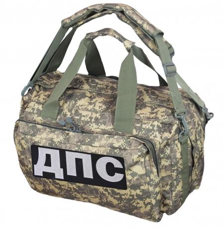 Камуфляжная походная сумка с нашивкой ДПС