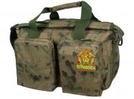 Камуфляжная походная сумка с нашивкой Погранвойска