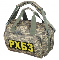 Камуфляжная походная сумка с нашивкой РХБЗ - купить онлайн