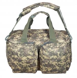 Камуфляжная походная сумка с нашивкой РХБЗ - купить по низкой цене