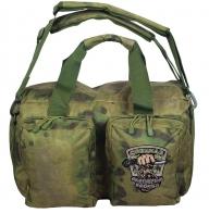 Камуфляжная полевая сумка с эмблемой Охотничьего спецназа