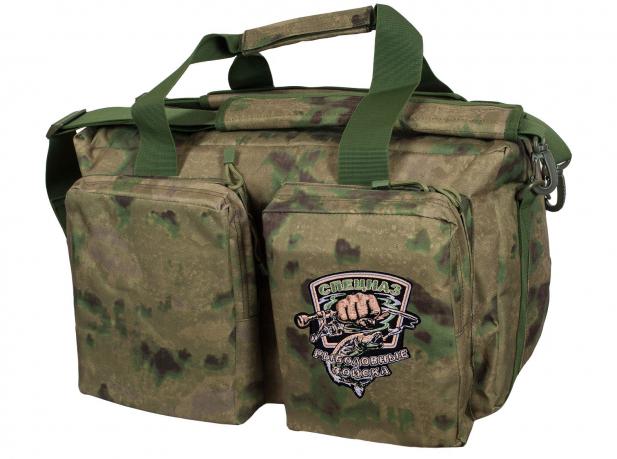 Камуфляжная полевая сумка с нашивкой Рыболовных войск