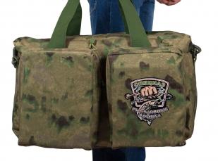 Камуфляжная полевая сумка с нашивкой Рыболовных войск купить выгодно