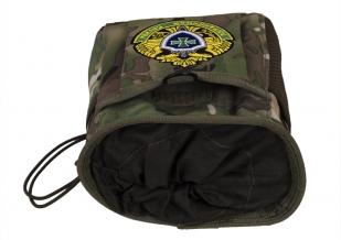 Камуфляжная поясная сумка для фляги с нашивкой Погранвойска - купить онлайн