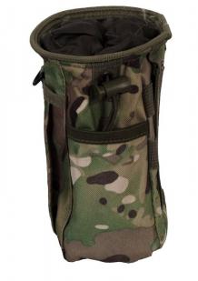 Камуфляжная поясная сумка для фляги с нашивкой Погранвойска - купить в Военпро