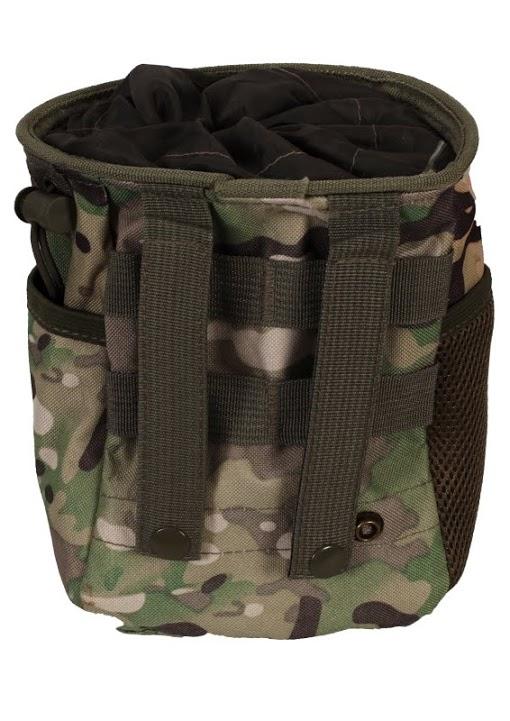 Камуфляжная поясная сумка для фляги с нашивкой Погранвойска