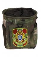 Камуфляжная поясная сумка с нашивкой Погранслужбы