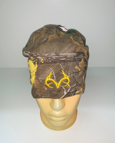 Камуфляжная практичная шапка
