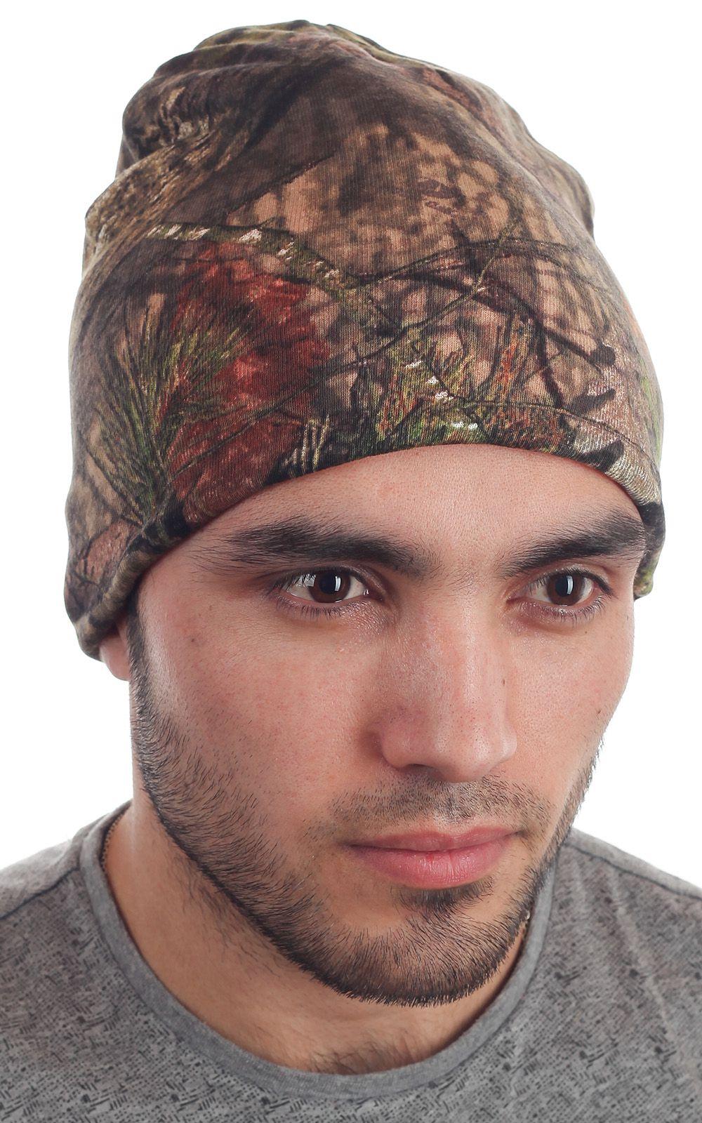 Вязаная шапка из камуфляжа Realtree Timber