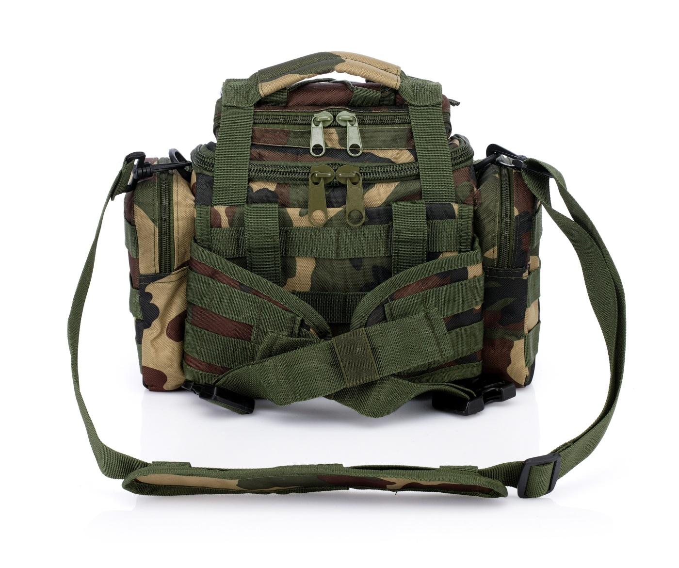 Камуфляжная сумка на плечо и пояс под камеру или фотоаппарат купить оптом и в розницу