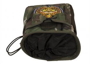 Камуфляжная сумка под флягу с эмблемой МВД - практичный подарок чекисту заказать в Военпро