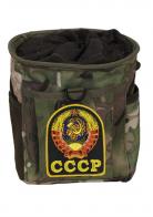 Камуфляжная сумка под флягу с эмблемой СССР - практичный подарок чекисту