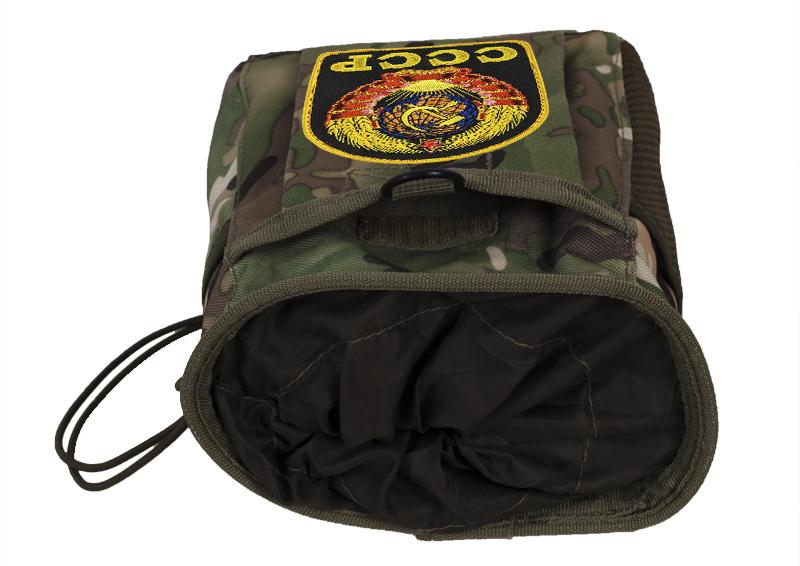 Камуфляжная сумка под флягу с эмблемой СССР - практичный подарок чекисту оптом в Военпро