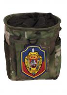Камуфляжная сумка под флягу с шевроном УГРО