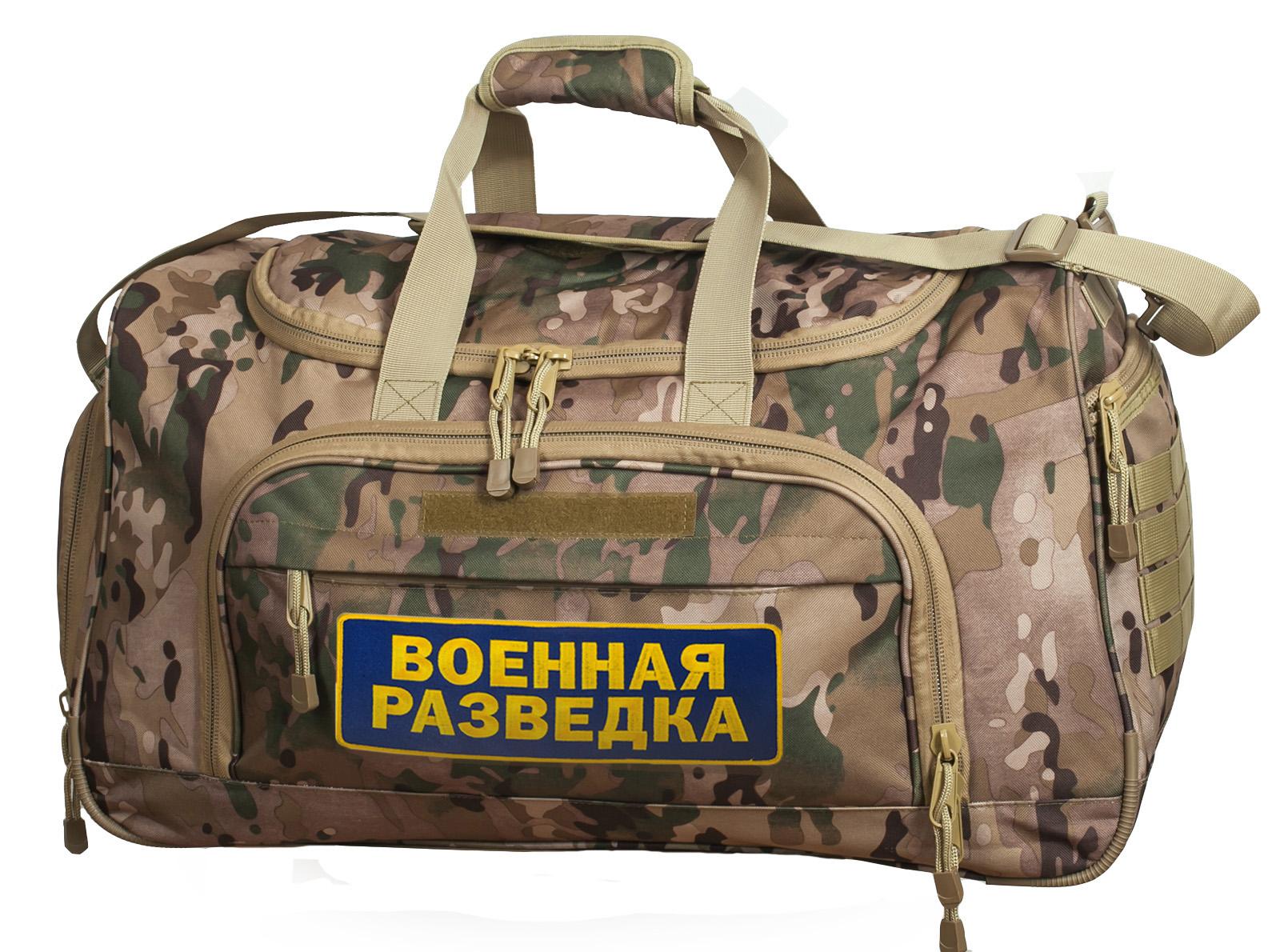 Самая мужская снаряга! Дорожная камуфляжная сумка Военной разведки