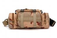 Камуфляжная тактическая сумка на пояс под камеру