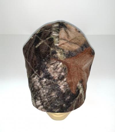 Камуфляжная теплая шапка