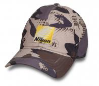 Камуфляжная топовая бейсболка Nikon ®