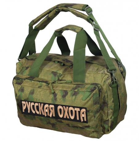 Камуфляжная заплечная сумка-баул Русская Охота - купить онлайн