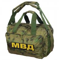 Камуфляжная заплечная сумка с нашивкой МВД