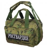 Камуфляжная заплечная сумка с нашивкой Росгвардия