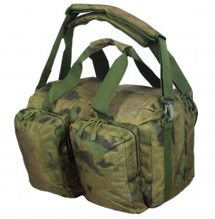 Камуфляжная заплечная сумка с нашивкой Русская Охота - заказать оптом