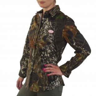 Камуфляжная женская рубашка Mossy Oak (США)
