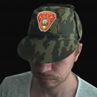 """Камуфляжная кепка """"Рожден в СССР"""""""