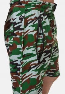 Камуфляжные армейские шорты с нашивкой Флот России - заказать выгодно