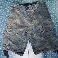 Камуфляжные джинсовые шорты от BRANDIT