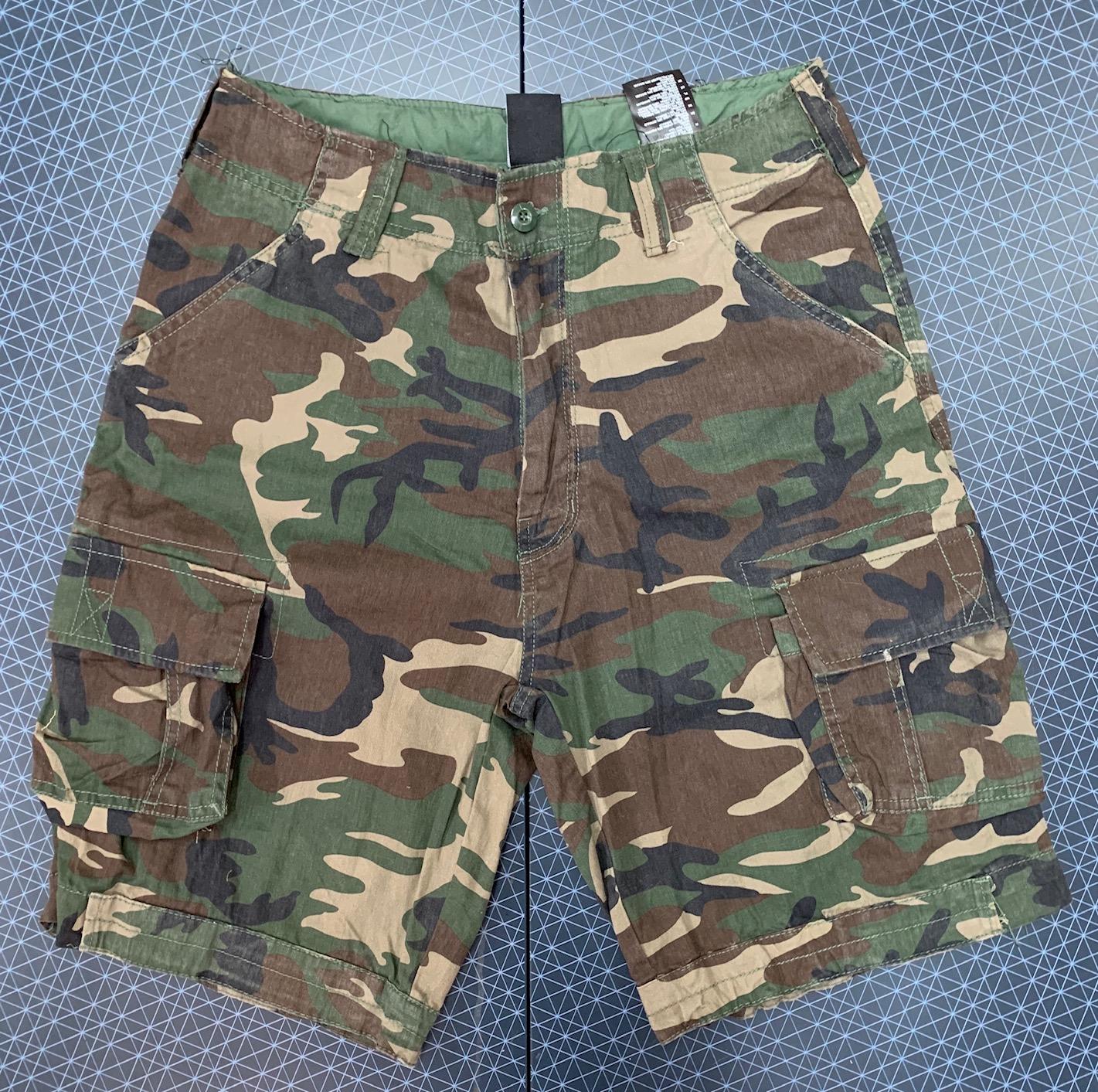 Камуфляжные мужские шорты Brandit