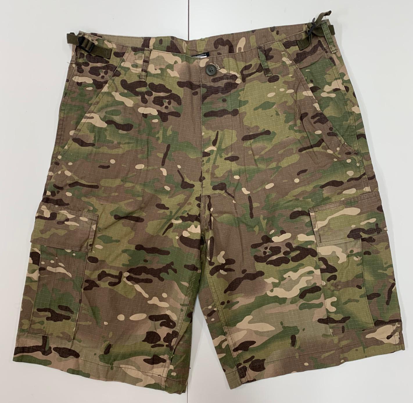Камуфляжные мужские шорты Miltec